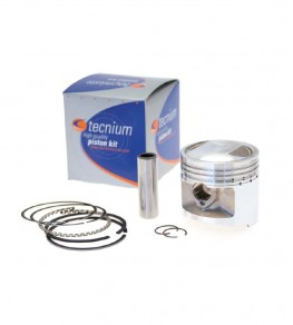 Kit Piston Honda NX125, Transcity 89-99 - Tecnium coulé 57,25mm