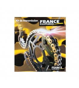 Kit chaine France Equipement Yamaha DTR.50 '88/90