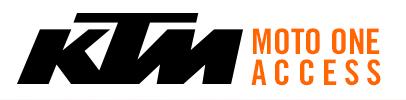 Pièces d'origine KTM - demande de devis