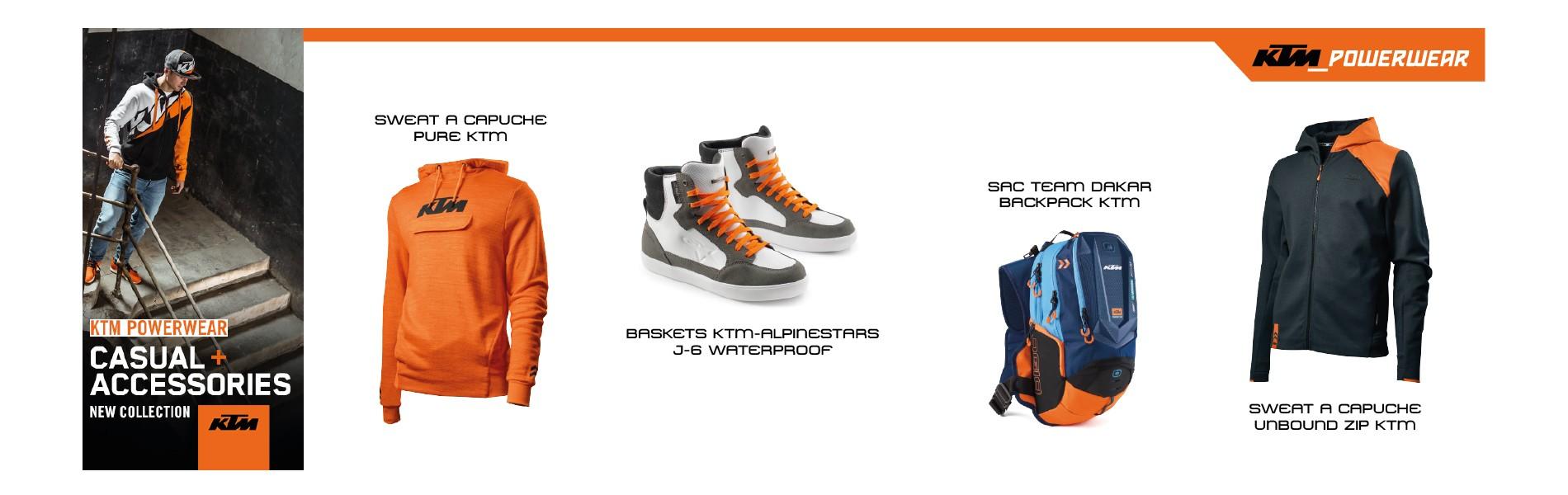 Découvrez la gamme Powerwear KTM !
