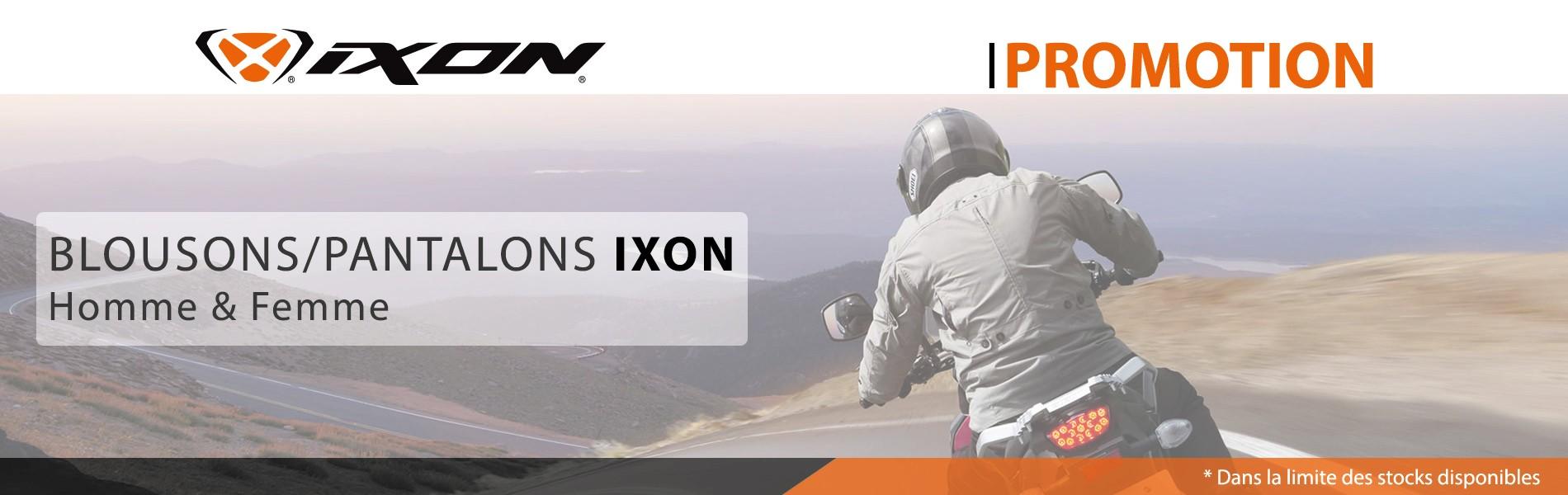 Promo sur les Blousons et Pantalons IXON
